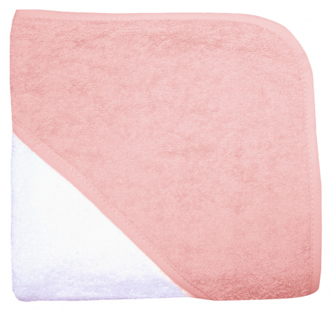 Babydump Collectie Babycape Wit / Pink