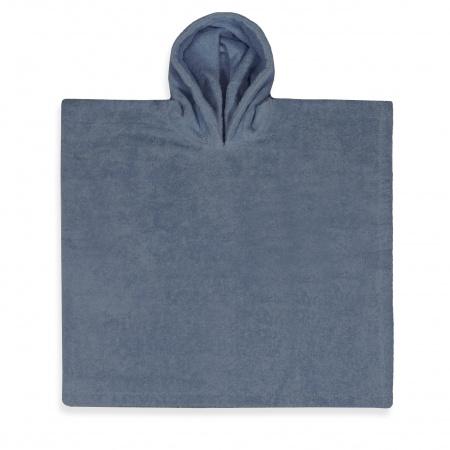 Funnies Poncho Grey/Blue