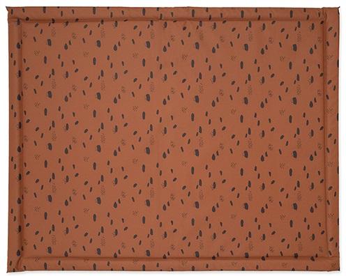 Jollein Boxkleed Spots Caramel<br> 75 x 95 cm
