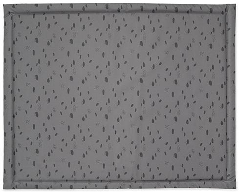 Jollein Boxkleed Spots Storm Grey<br> 75 x 95 cm
