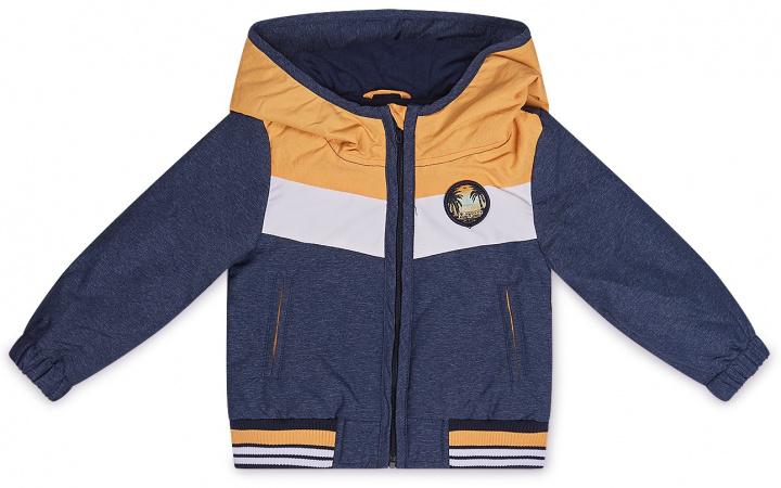Dirkje Jas Navy Bright Orange