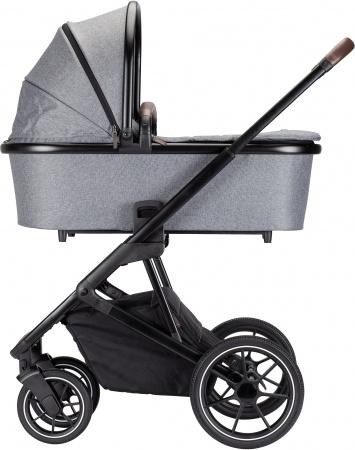 Qute Q-Rider Kinderwagen Zwart Frame/Grey