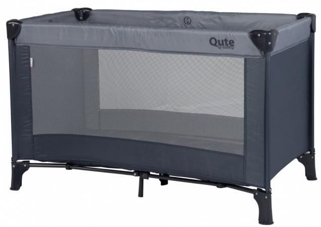 Qute Campingbed Q-sleep Grey / Antra