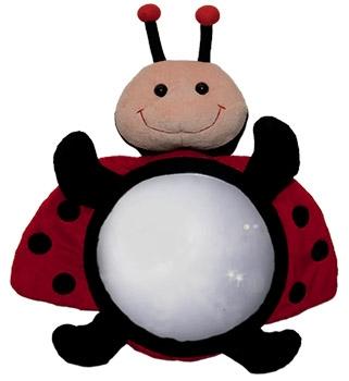 Little Luca Baby Car Mirror Ladybug