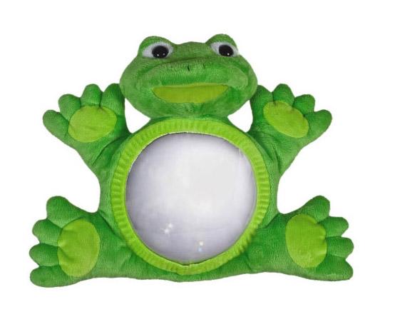 Little Luca Baby Car Mirror Frog
