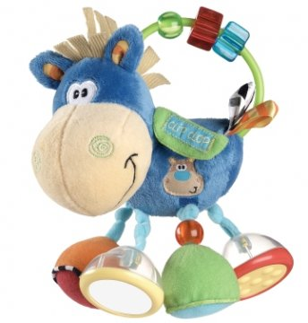 Playgro Toy Box Activity Rattle Clip Clop
