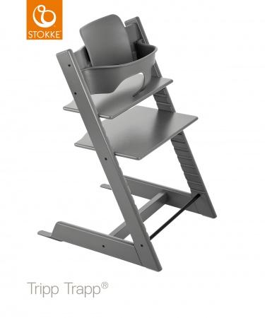 Stokke® Tripp Trapp® Storm Grey incl. Baby Set
