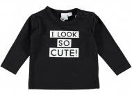 T-Shirt So Cute Black