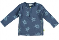 T-Shirt Turtle Faded Denim