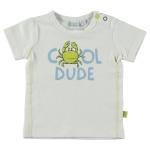 T-Shirt Korte Mouw Dude White