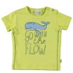 T-Shirt Korte Mouw Flow Wild Lime