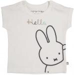T-Shirt Korte Mouw Hello Offwhite