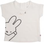 T-Shirt Korte Mouw Love Offwhite