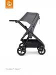 Stokke® Beat™ Black Chassis - Black Leatherette Handle