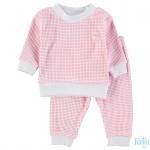 Pyjama Roze Wafel