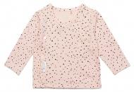T-Shirt Overslag Lyoni Peach Skin