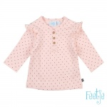 T-Shirt Dots Roze