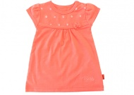 Jurk Embroidery Coral