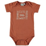 Romper Korte Mouw Cute Autumn Leaf