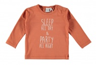 T-Shirt Sleep Autumn Leaf
