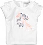 T-Shirt Korte Mouw Animals White