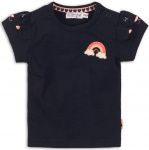 T-Shirt Korte Mouw Rainbow Navy