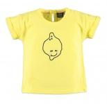 T-Shirt Korte Mouw Lemon Yellow Fair