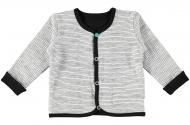Vest Black / White Stripe