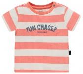 T-Shirt Korte Mouw Marshall Stripe Fresh Salmon