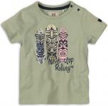 T-Shirt Korte Mouw Rolling Faded Green