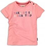 T-Shirt Korte Mouw Road Trip Pink
