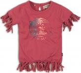 T-Shirt Korte Mouw Flamingo Cassis
