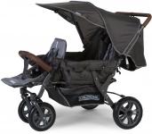 Childhome Triplet Wandelwagen Antraciet +RC