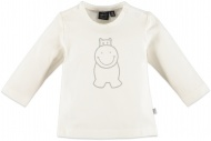 T-Shirt Hippo Light Grey