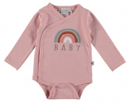 Romper Rainbow Silver Pink