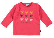 T-Shirt Hearts Teaberry