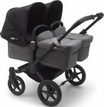 Bugaboo Donkey3 Twin  Complete Set Zwart Frame