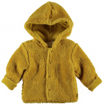 Vest Teddy Ocre