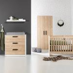 Europe Baby Nova Wit/Eiken