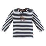 T-Shirt Stripe Caramel