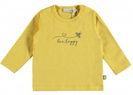 T-Shirt Bee Happy Misted Yellow