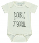 Romper Korte Mouw Double Trouble Snow White