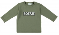 T-Shirt Boefje Deep Lichen Green