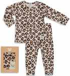 Feetje Pyjama Leopard Lou Perzik