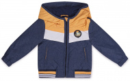 Jas Navy Bright Orange