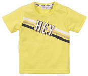 T-Shirt Korte Mouw Hey Neon Yellow