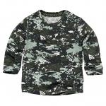 T-Shirt Zack Dusty Green Spots