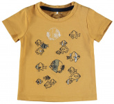 T-Shirt Korte Mouw Folon Spruce Yellow