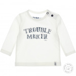 T-Shirt Trouble Maker Offwhite