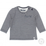 T-Shirt Stripe Navy/Offwhite